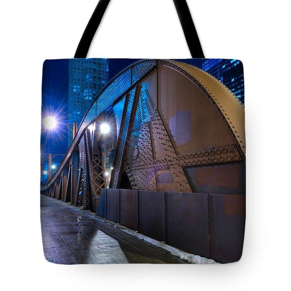 Chicago Steel Bridge Tote Bag