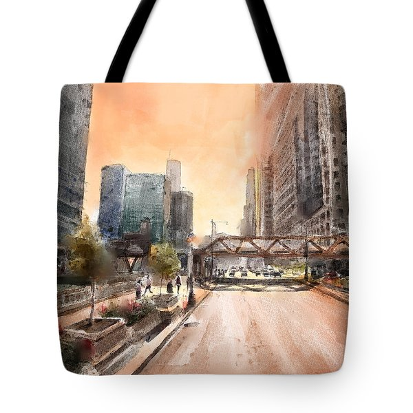 Chicago Street 2 Tote Bag