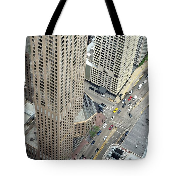 Chicago Streets Tote Bag