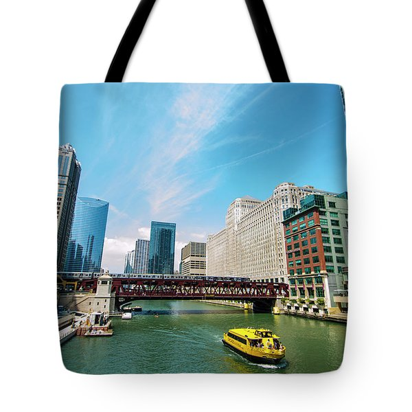 Chicago, That Toddlin' Town Tote Bag