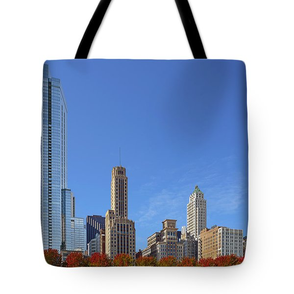Chicago The Beautiful Tote Bag by Christine Till