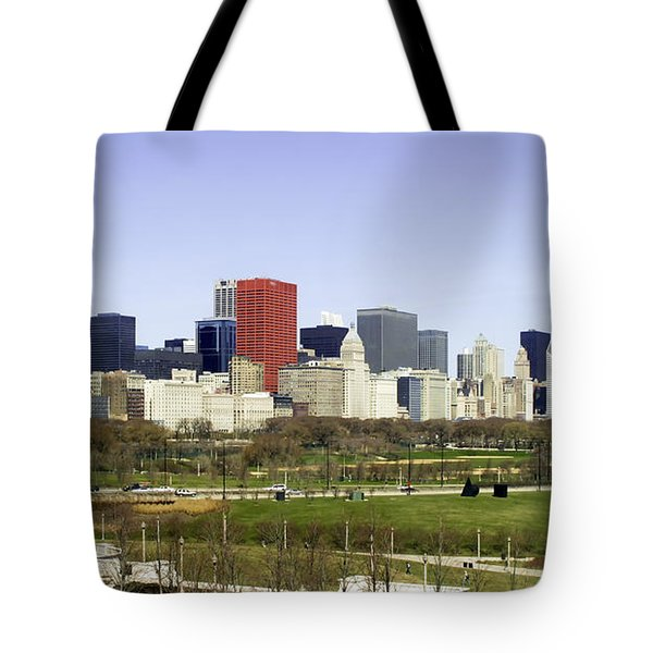 Chicago- The Windy City Tote Bag