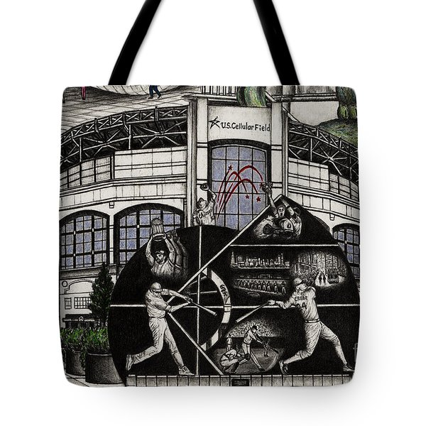 Chicago Whitesox Us Cellular Field Tote Bag