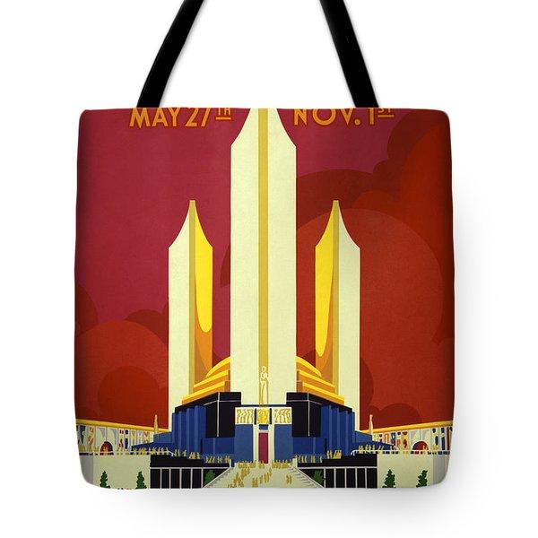 Chicago World's Fair - 1933 Tote Bag