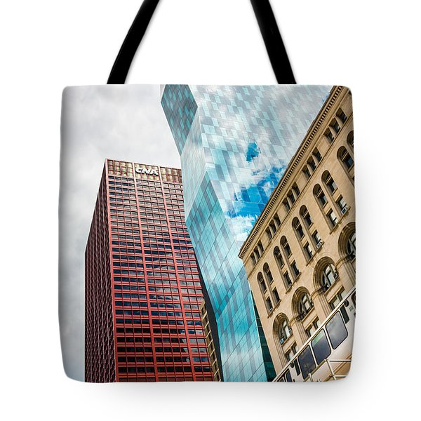 Chicago's South Wabash Avenue  Tote Bag