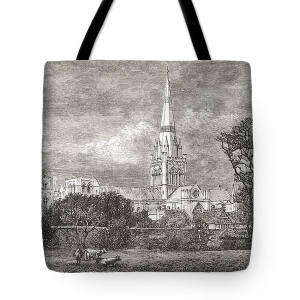 Chichester Cathedral, Chichester Tote Bag