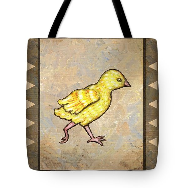 Chick Four Tote Bag by Linda Mears
