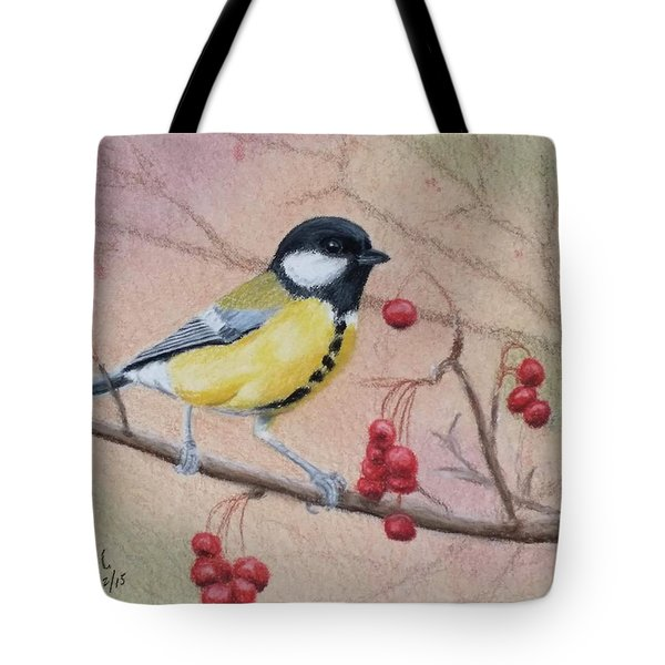 Great Tit Tote Bag
