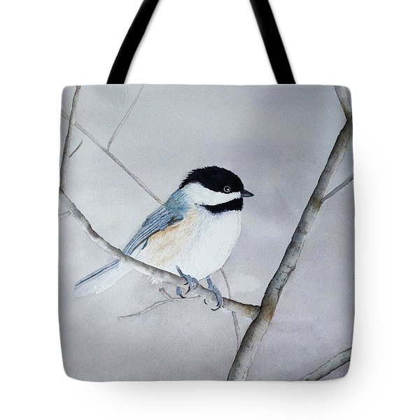 Chickadee II Tote Bag