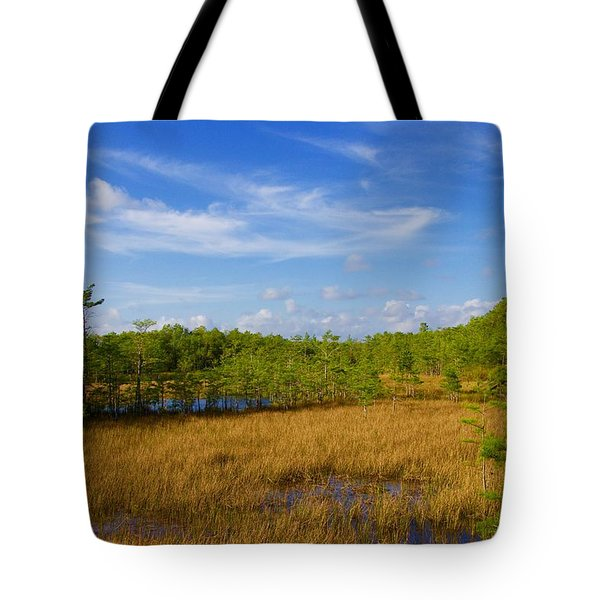 Chickee Hut Tote Bag