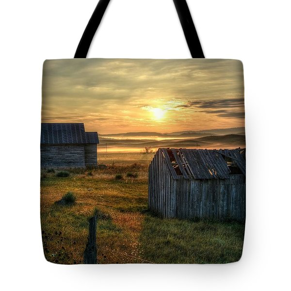 Chicken Creek Schoolhouse Tote Bag