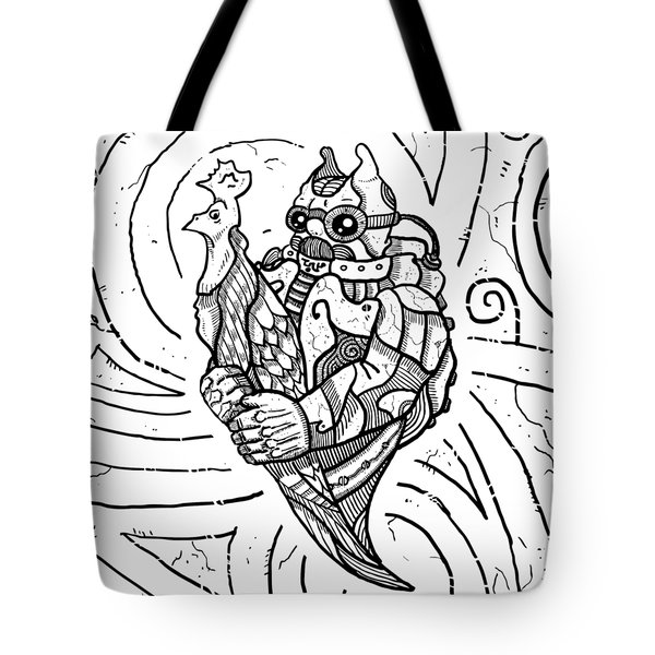 Chicken Master Tote Bag