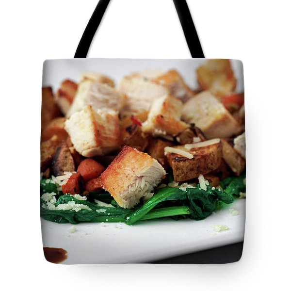 Chicken N Hash Tote Bag