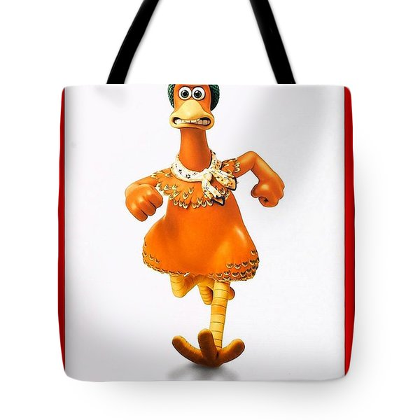 Chicken Run B Tote Bag by Movie Poster Prints