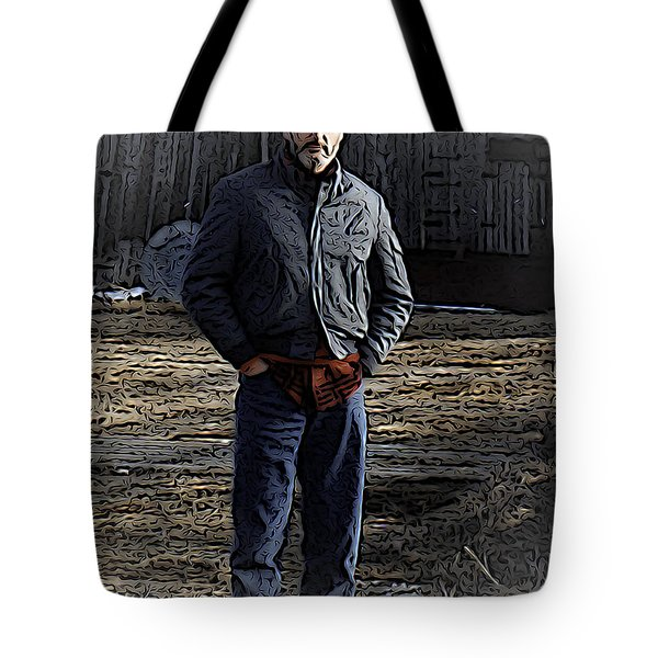 Chid Is Father To The Man Tote Bag