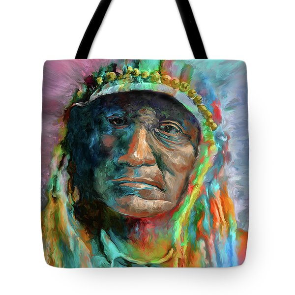 Chief 2 Tote Bag by Rick Mosher