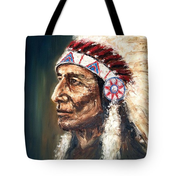 Chief Tote Bag by Arturas Slapsys