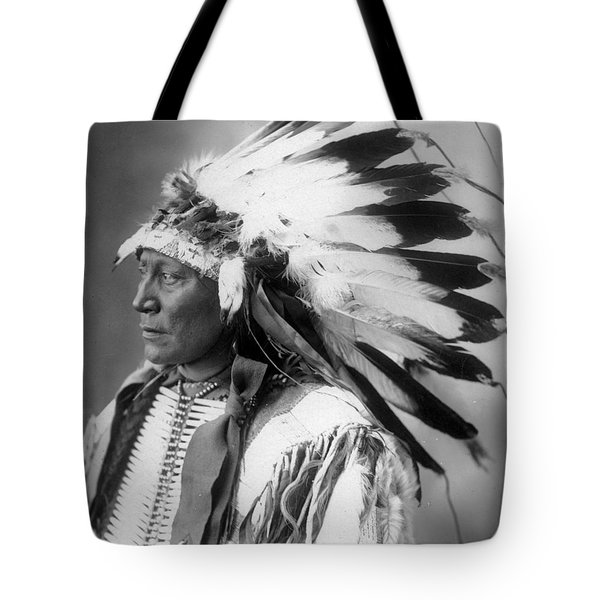 Chief Hollow Horn Bear Tote Bag