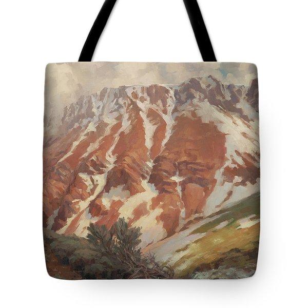 Chief Joseph Mountain Tote Bag