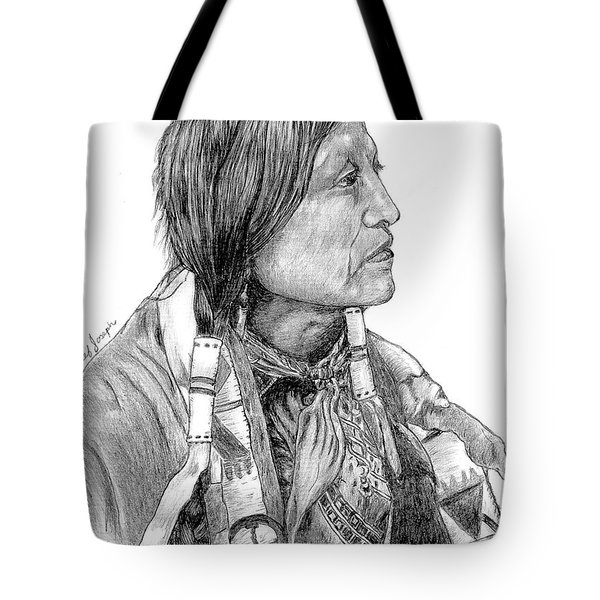 Chief Joseph Of Nes Perce Tote Bag