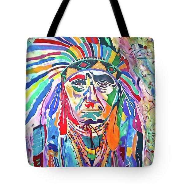 Chief Joseph Of The Nez Perce Tote Bag