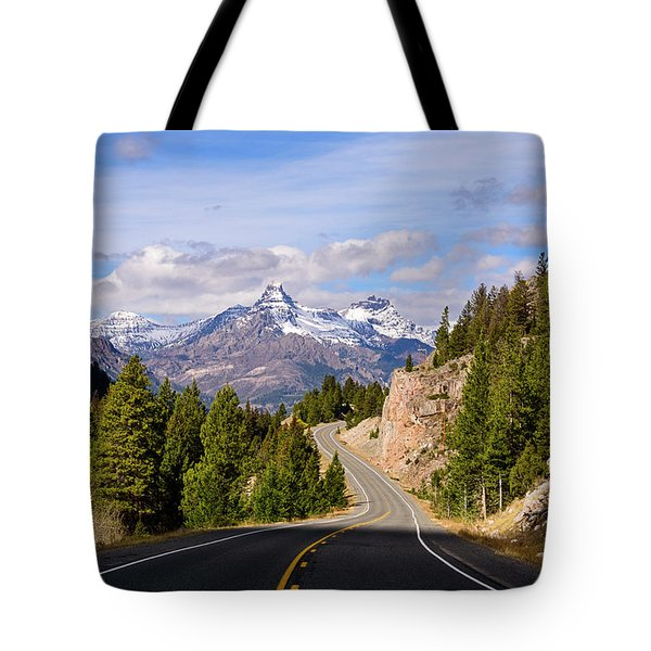 Chief Joseph Scenic Highway Tote Bag