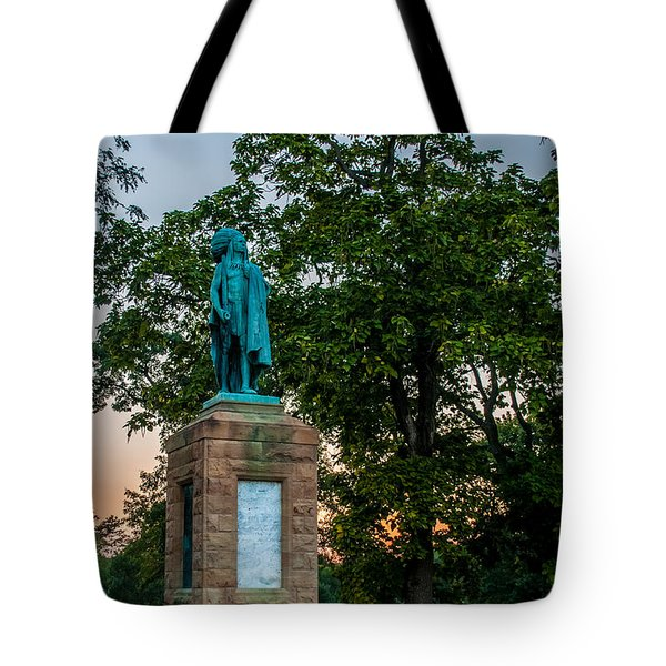 Chief Keokuk Tote Bag