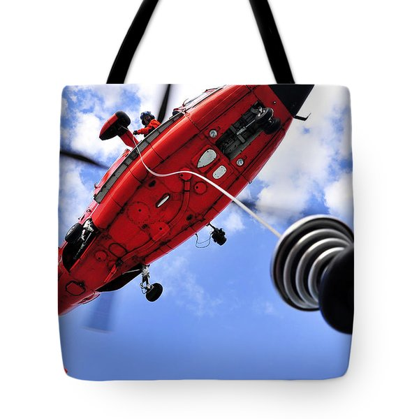 Chief Petty Officer Looks Out The Door Tote Bag