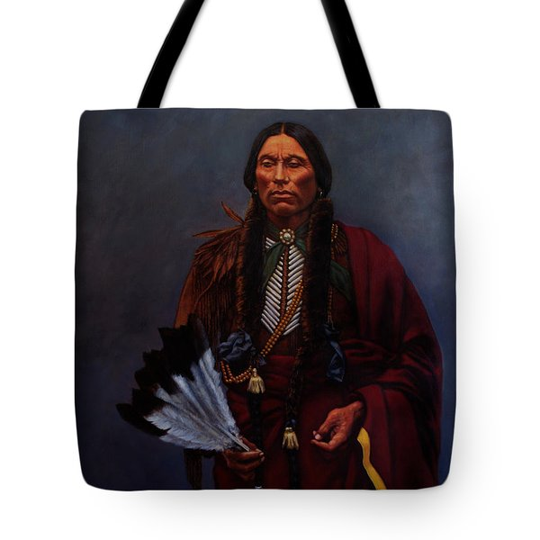 Chief Quanah Parker Tote Bag