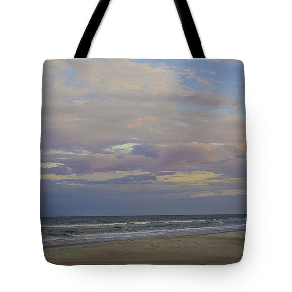 Chiffon Sunset Tote Bag