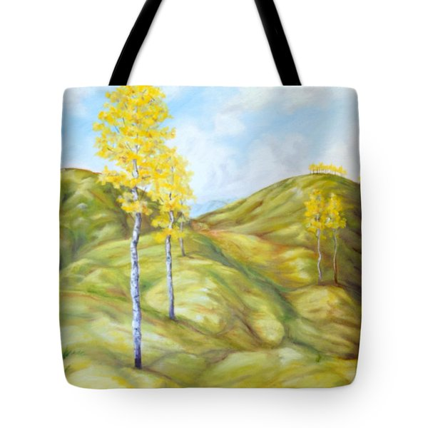 Chilcotin View Tote Bag