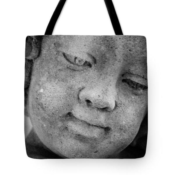 Child Gaze Tote Bag