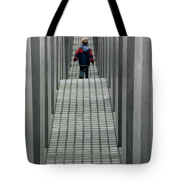 Child In Berlin Tote Bag