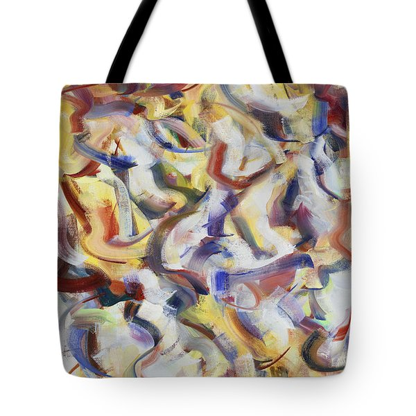 Child Is Father Of The Man Tote Bag