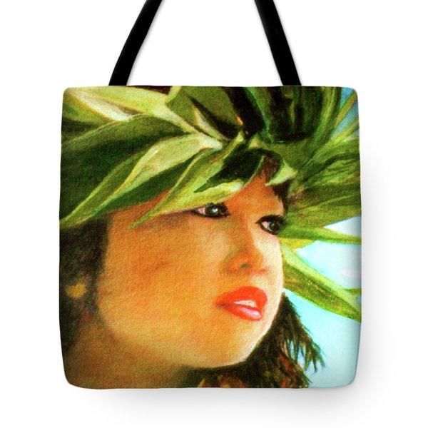 Child Keiki In Hawaiian No# 84 Tote Bag by Donald k Hall