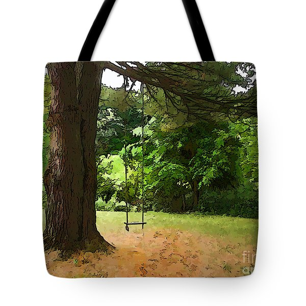 Childhood Tote Bag by Betsy Zimmerli