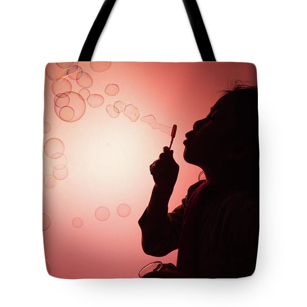 Tote Bag featuring the photograph Childhood Days by William Lee