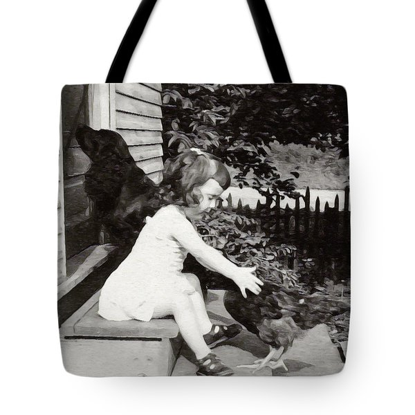 Childhood Friends Tote Bag