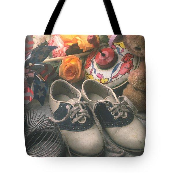 Childhood Memories Tote Bag by Garry Gay
