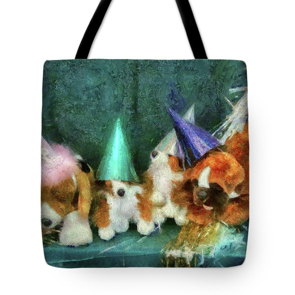 Children - Toys - Let's Get This Party Started Tote Bag by Mike Savad