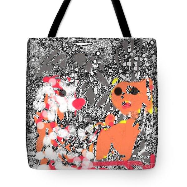 Children Art Friends Tote Bag