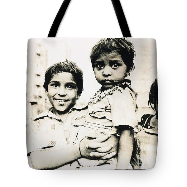 Of Hope And Fear, Children In Mexico Tote Bag