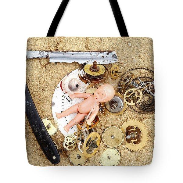 Children's Games Tote Bag by Michal Boubin