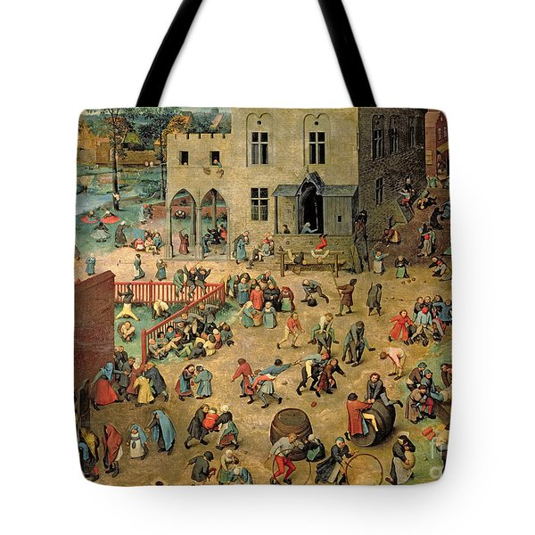 Children's Games Tote Bag