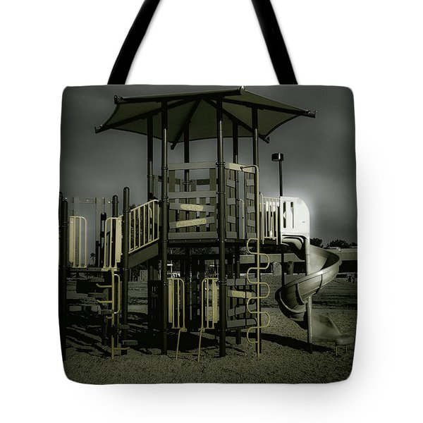 Children's Playground Tote Bag