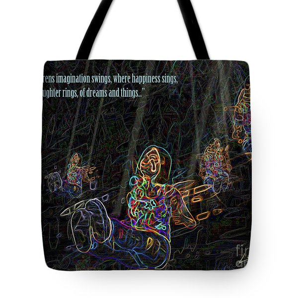 Childrens Verse Tote Bag