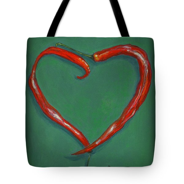 Chiles - Sweet Heat Tote Bag by Karyn Robinson