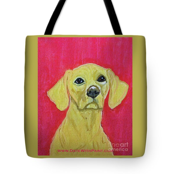 Tote Bag featuring the painting Chili_dwp_may 2017 by Ania M Milo