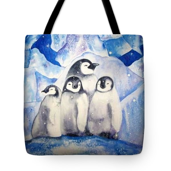 Tote Bag featuring the painting Chill Out by Martha Ayotte