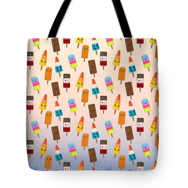 Chilled Friends - Summer Background Tote Bag